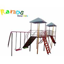 Casinha De Tarzan 09 - Brinquedos Para Playground Parquinho