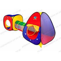 Toca Barraca Infantil - 3 Em 1 - Com Túnel