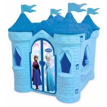 Playground Castelo Frozen Disney Brinquedo Xalingo