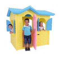 Casinha De Boneca Tropical Plus Brinquedo Infantil Xalingo