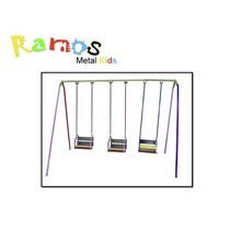 Balanço Infantil Cadeirinha 03 Lugares - Brinquedo Infantil