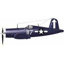 Projeto Planador Avião De Guerra Corsário F4u - Original!