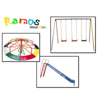 Conjunto Folia 03 - Balanço - Parquinho Infantil - Brinquedo