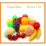 Brinquedosde 20 Pçs Pré-escolar Crianças Simulação Frutas