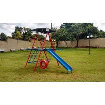 Playground Seminovo Usado Casa De Tarzan Brinquedo Parquinho