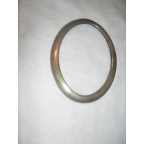 Porta Retrato De Bronze Oval Alt 19 Cm ,15 Larg