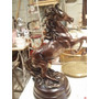 Cavalo Em Peti Bronze- Gigante -