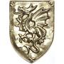 Brasão Dragão - Bronze