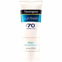 Protetor Solar Neutrogena Sun Fresh Fps 70 Corpo 200ml