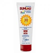 Bloqueador Solar Sunlau Fator 30 C/ Repelente Insetos Dengue