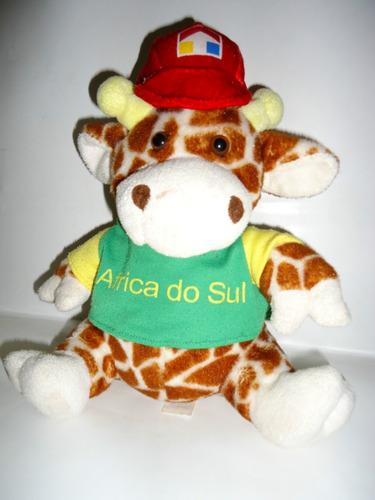 Brq - Girafa Da Copa Da África 2010 - Oficial - 25cm