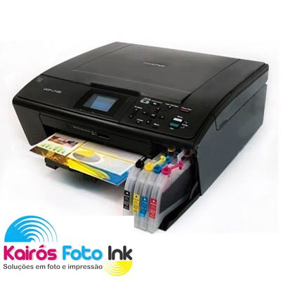 Bulk Ink Cartuchão Impressoras Brother Dcp J125 Dcp 165