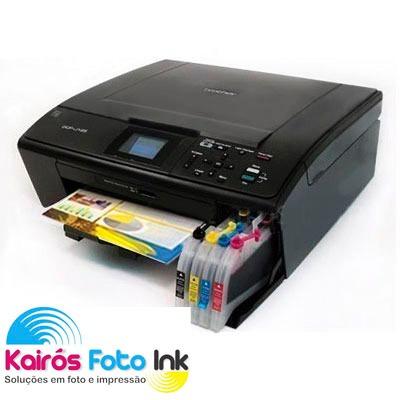 Bulk Ink Cartuchão Impressoras Brother Dcp J125 Dcp 165
