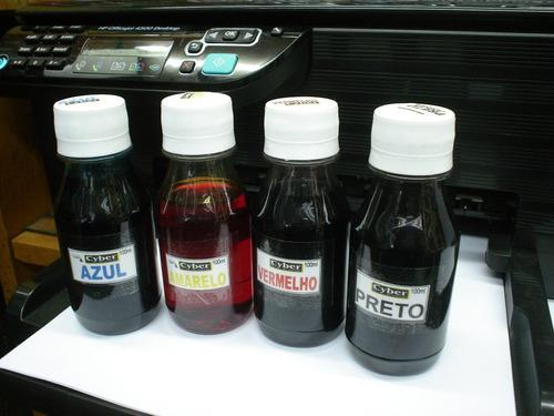 Bulk Ink Hp Completo + 400 Ml Tinta Impressora +frete Grátis