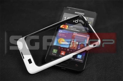 Bumper Case Samsung Galaxy S2 I9100 + Película Grátis