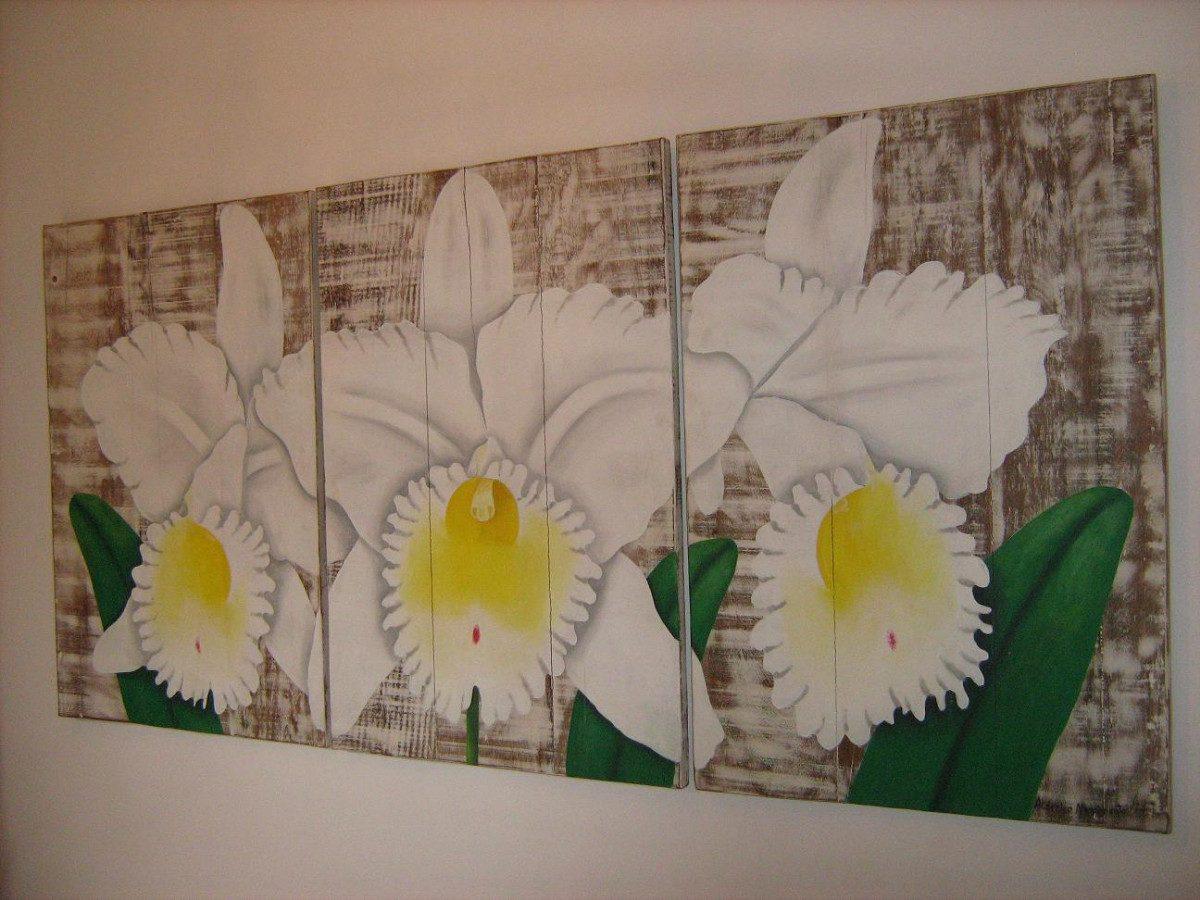 Ca482  Painel Triplo Em Madeira De Demolição Arte Mg R$ 2.541 00  #9A8731 1200x900