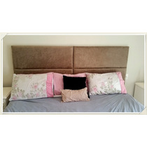Cabeceira Painel Cama Box Casal Padrao Queen King