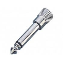 Adaptador P2 Para P10 Mono Metal Plug