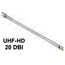 Antena Uhf Digital Hd Eldtec 14 Elementos 20dbi Banda Total