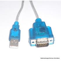 Adaptador Conversor Usb P/ Serial Db9 Modelo Rs232 Cód 018