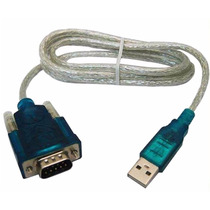 Cabo Adaptador Conversor Usb Serial Rs232 - Usb 2.0 X Serial