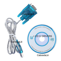 Cabo Usb X Rs232 Db9 + Cd Para Windows 8 E 7 Nova Geração