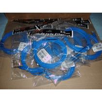 Cabo Ethernet Cat 6e 3.0mt Pluscable - Pc-eth6e3001