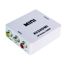 Conversor De Av Rca Audio Video P/ Hdmi Full Hd 1080p Av2hdm