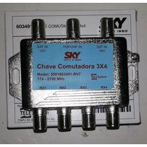 Chave Camutadora 3x4 Nanosat Original