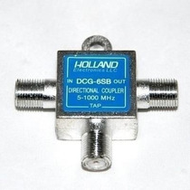 Divisor Holland Original 6db, Net Tv,claro,vivo,sky Uhf,vhf