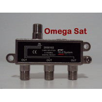Divisor 3x1 P/ Tv Digital Vhf / Uhf / Catv