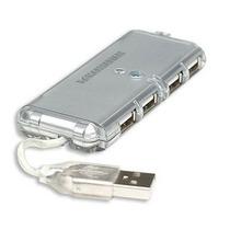 Mini Hub Usb 04 Portas 2.0 P/ Pc E Notebook