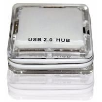 Pr Hub Mini 4 Portas Usb 2.0 Comtac 9161