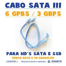 Cabo Sata 3 - 6 Gbps - Hd
