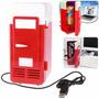 Mini Frigobar, Usb Refrigerador Pronta Entrega