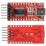 Conversor Usb Serial Ftdi Ft232rl Ttl 5v 3v3 Arduino