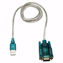 Cabo Adaptador Usb 2.0 Serial Conversor Rs232 Db9 9 Pinos