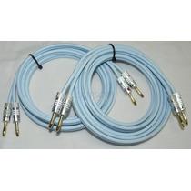 Cabo Supra Cable Classic 2.5 - Com Plug Bananas - Par- 2,5m