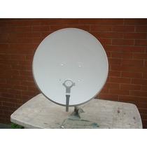 Antena 60cm Banda Ku + Lnb Universal + 20mts De Cabo+fixação