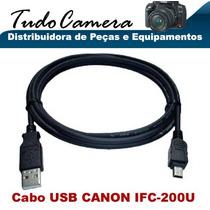 Cabo Usb Ifc Canon Eos 1d 1ds Mark Ii 5d 10d 20d 30d 40d 50d