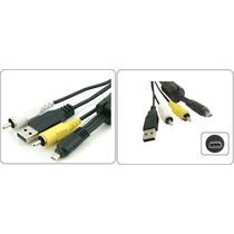 Cabo Usb Dados Uc-e6 P/ Cybershot Serie S Dsc S800 S950 S980