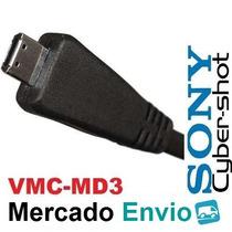 5* Cabo Usb Vmc-md3 P/ Sony Dsc- Wx7 T110 T110d W570 W570d