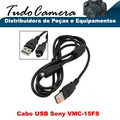 Cabo Usb 15fs Filmadora Sony Dcr-dvd101 Dvd105 Dvd106 Dvd108