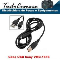 Cabo Usb 15fs Filmadora Sony Hdr- Hc1 Hc3 Hc5 Hc7 Hc9 Hc19