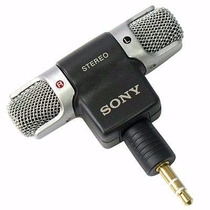 Mini Microfone P2 3.5mm P/ Filmadoras Sony Gopro Hero 123