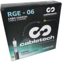 Cabo Coaxial Rg6 100m + 10 X Conector - Campinas