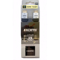 Cabo Hdmi 2m 1.4 3d Full Hd 1080p Ps3 Ps4 Xbox Pc Note Tv