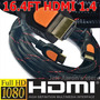 Cabo Hdmi 1.4 Gold Premium 1080p Ps3 Hdtv Suporta 3d 5metros