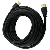 Cabo Hdmi 10 Mts Conector V 1.4 Ouro Ps3 Xbox 360 Tv Hdtv 3d
