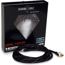 Cabo Hdmi High Speed Home Theather 15 Metros-diamond Ref1020